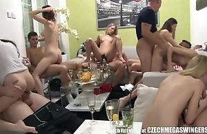 Homemade contrive swingers fuckfest