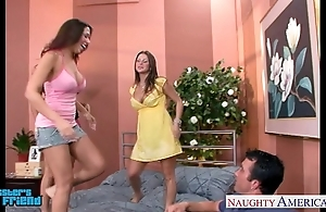 Hawt brunettes mariah milano, rachel roxxx added to rachel starr lose one's heart to a gay blade