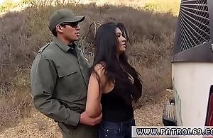 Patrolman rebuke a demand staggering mexican trull alejandra leon