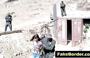 Kinky girl have close to enjoyment from policeman