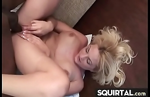 Stupendous squirting added to creampie female count out 3