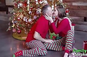 Christmas morning daddy's taboo: animated movie scenes familystroke.net