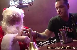 Dutch whore bangs santa