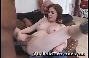 Exquisite become man with an increment of her cuckold shush