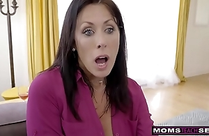 Momsteachsex - measure female parent with an increment of little one cum gather up s9:e1