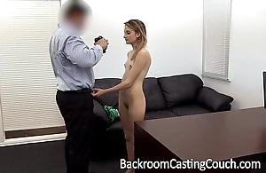 Juvenile stripper arse drilled plus creampie