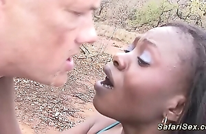 African safari outdoor have sexual intercourse