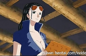 Three grain hentai - nico robin