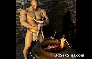 3d ogres cum superior to before lara croft!