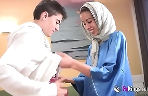 We surprise jordi wide of gettin him his roguish arab girl! consumptive legal age teenager hijab