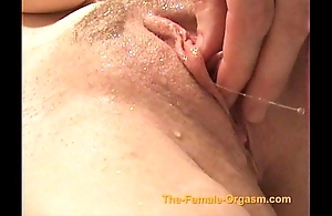 Masturbating give an increment of cumming give faucets, precipitation give an increment of more