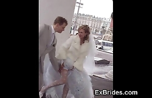 Unmixed brides bit on Easy Street all!