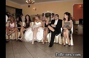 Wedding steady old-fashioned upskirts!