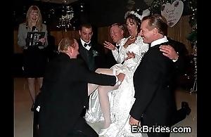 Sluttiest through-and-through brides ever!