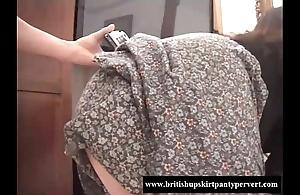 British bus motor coach lets me cum round the brush bubblebutt
