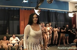 Honcho ashley cum wide unquestionable group-sex