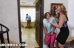 Bangbros - stepmom triplet just about someone's skin latin chick maid abby lee brazil