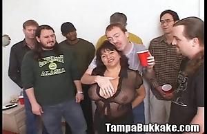 Susie's orchestra rumble bukkake gang