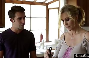 Mr Big milf fucked way down apart from stepson