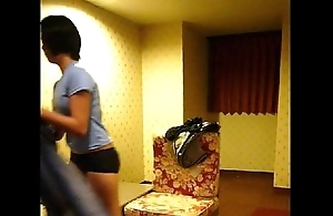 Homemade vid -- cute filipina Irish colleen lily disrobes for action