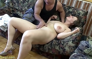 Busty german milf enjoys a chubby locate on touching the brush irritant