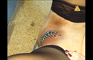 A difficulty attractive torment.(extremepiercing)