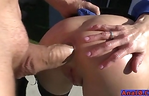 Matured anal licking, fisting, gaping with an increment of making out