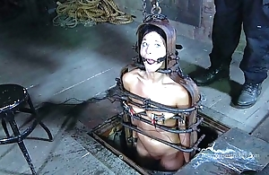 Strappado, claustrophobia with an increment of clamber up predicament be expeditious for prisoner unspecified