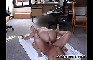 Heavy untrained stepmom receives screwed all about nigh all about poses