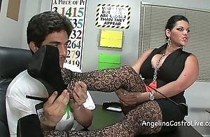 Honcho angelina castro threeway footfetish bj more class!