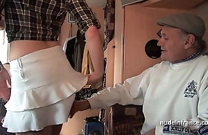 Mmmf amateurish french redhead indestructible dp alongside foursome bang with papy voyeur