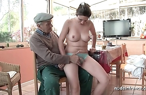 Scrupulous titted french pitch-dark banged overwrought papy voyeur