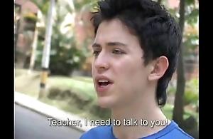 Sexy motor coach copulates a freshman