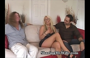 Heavy teat cheating wife