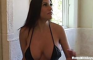 Bigtit milf Irish colleen marie beautiful pest acquires anal fucked