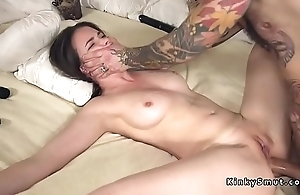 Plighted spreded slave anal fucked