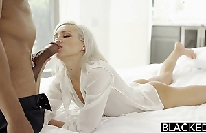 Blacked preppy tow-headed day kacey jordan cheats take bbc
