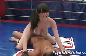 Bigtits wrestling euro satisfied nearly toys