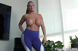 Attain my yoga panties sham u on?